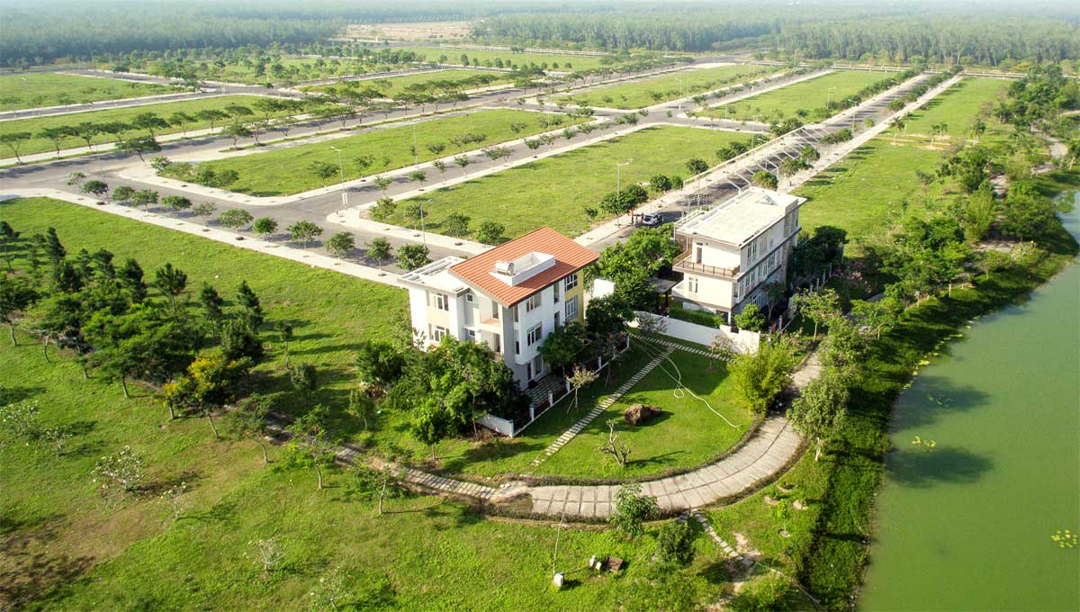 Không gian xanh mát tại khu đô thị ĐÔNG SAIGON
